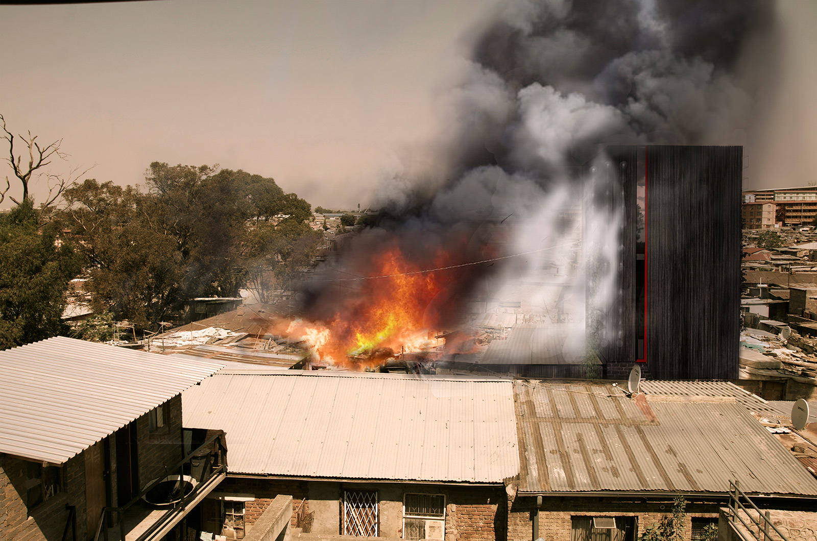 Sustainable-architecture-fire-house