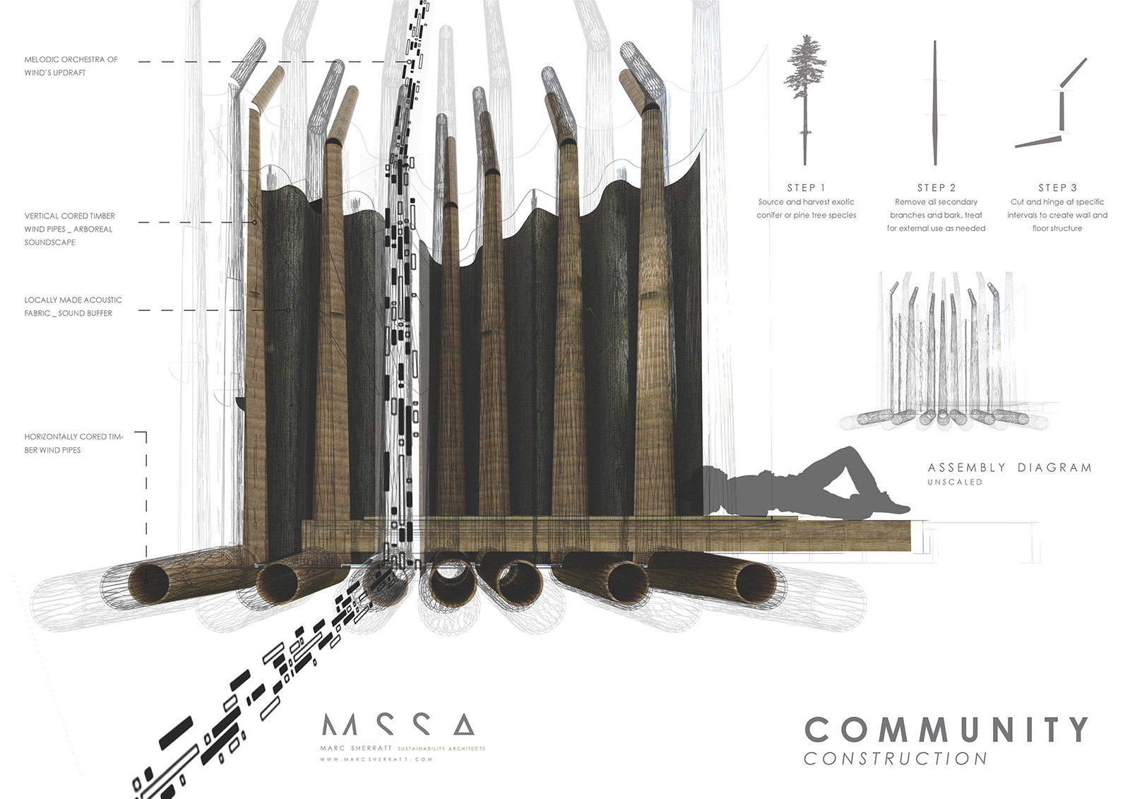 Sustainable-architecture-singing-chapel-construction